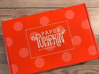 Sending Hearts - Online Paper Pumpkin Event Sunday, Jan 24
