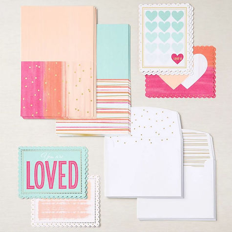 154287 Sweet Little Valentines Cards and