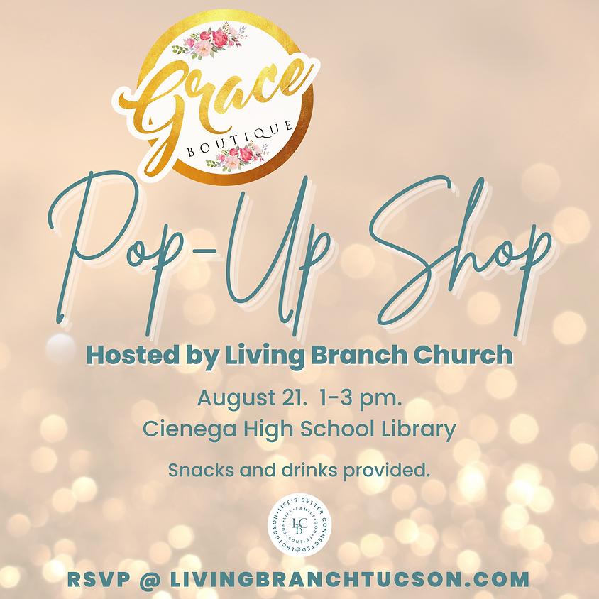Grace Boutique Pop-Up Shop