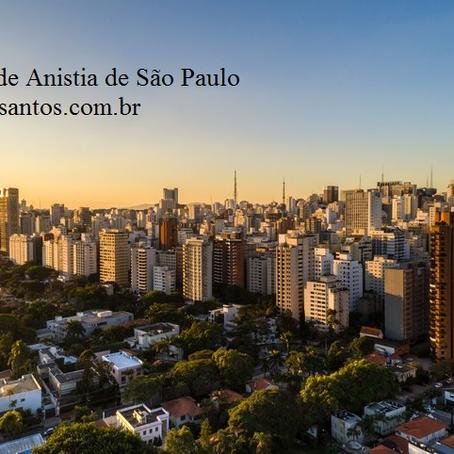 Anistia de imóvel em São Paulo.