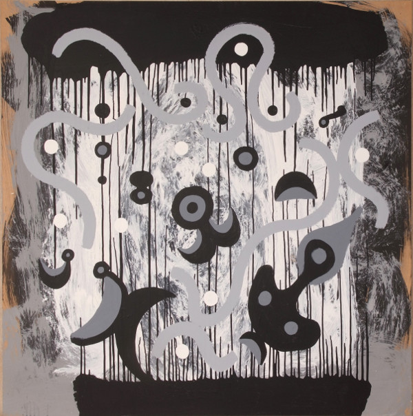 Black and White Painting No.2, (Womb of Space)