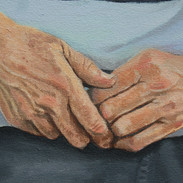 R.S. 2018 (detail of hands)