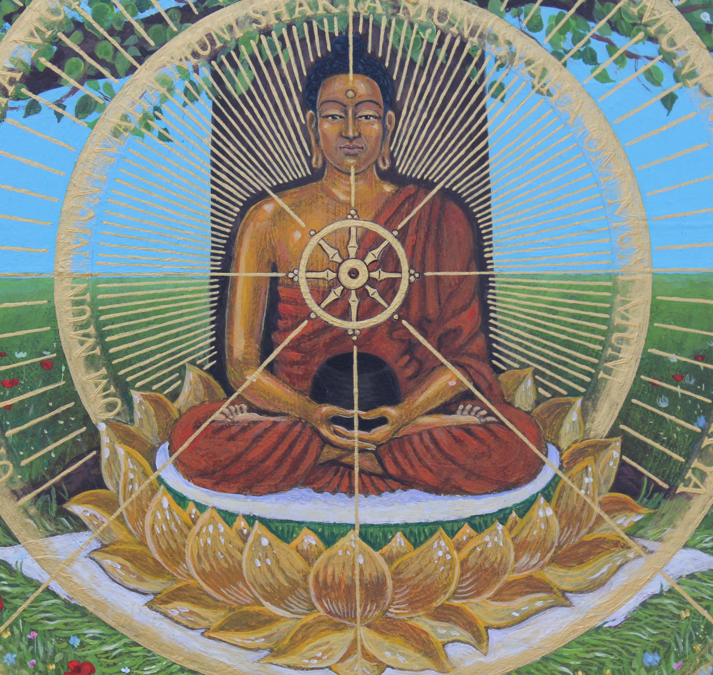 Shakyamuni (detail)