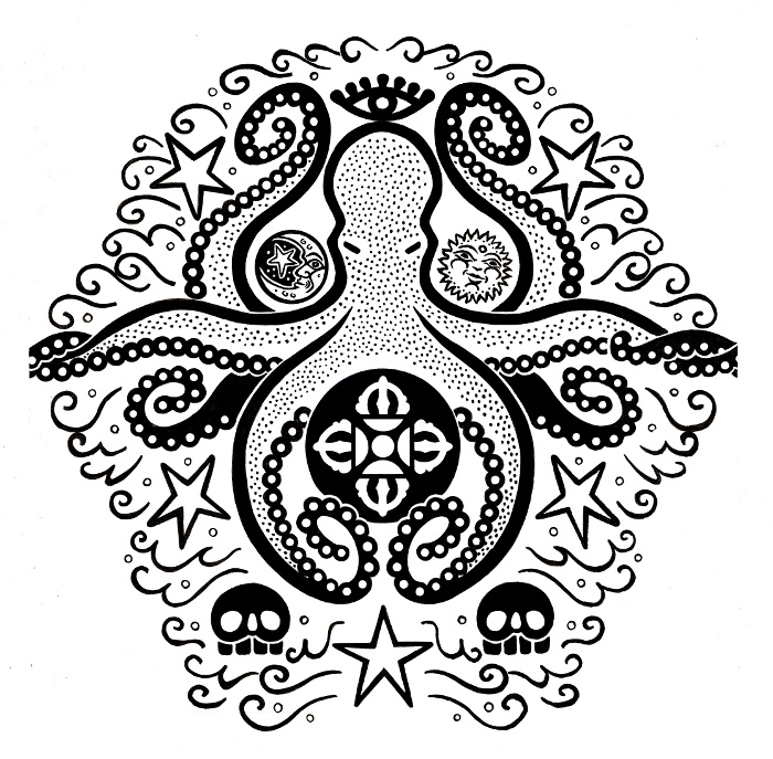 Octapus Tattoo Design