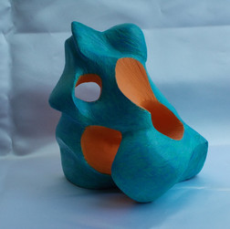 Blue and Orange Form