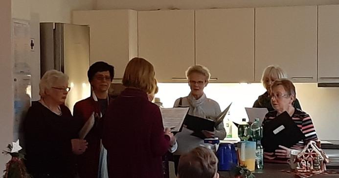 Besuch vom Chor