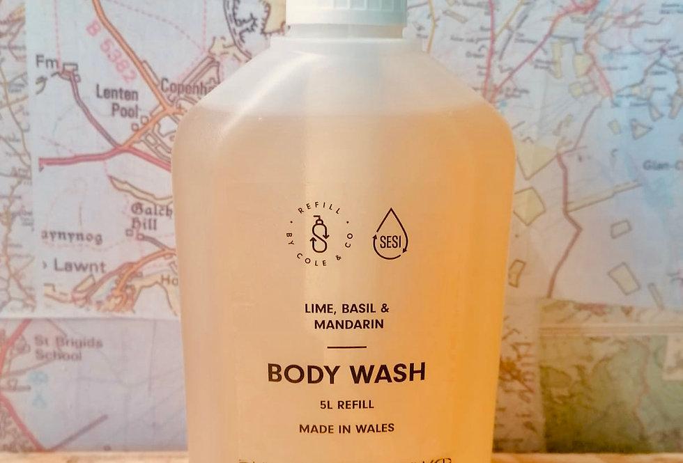 Body Wash - Lime, Basil & Mandarin