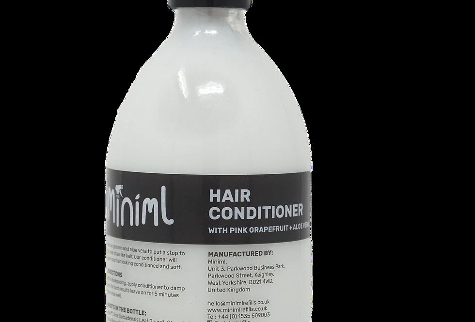 Hair conditioner (pink grapefruit and aloe vera)