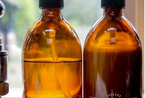 500ml amber glass bottle - Lotion