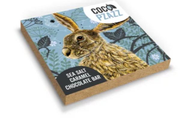 Chocolate Bar - Fox & Boo's Sea Salt Caramel