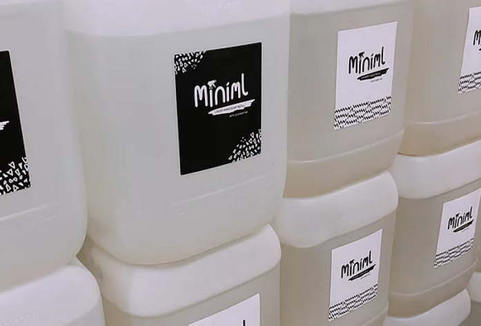 Hand disinfectant rub - mighty minty