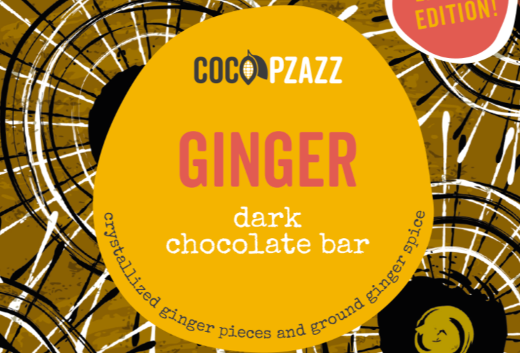 Chocolate bar - Ginger Dark Chocolate