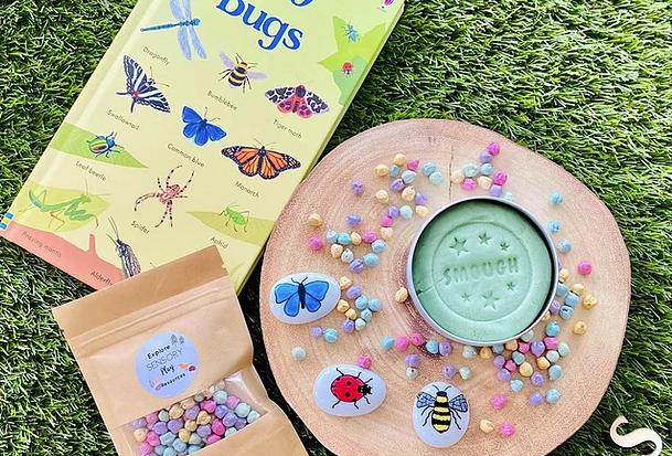 Smough - scented play dough Bug Box