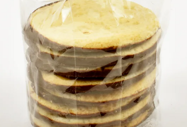 Shortbread biscuits - Belgian Chocolate Dipped 170g