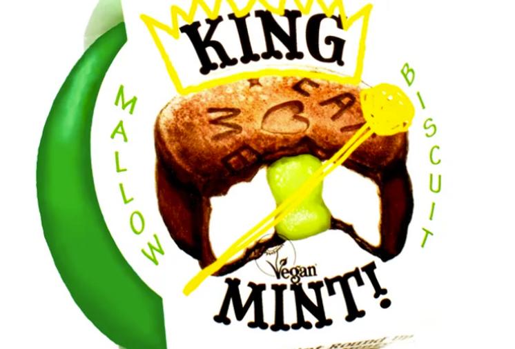 Mint Round Up  Biscuit