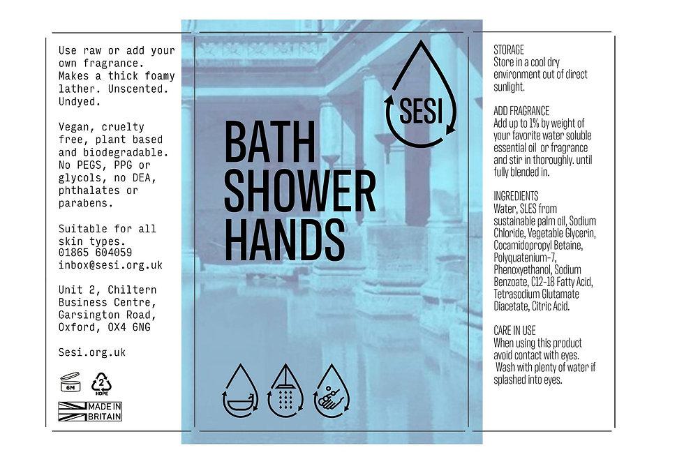 Bath - Shower - Hands