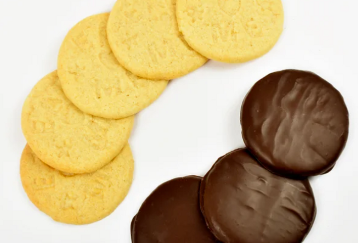Shortbread biscuits  - Belgian Chocolate Coated 180g