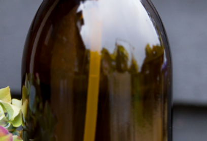 1L amber glass bottle - Dishes