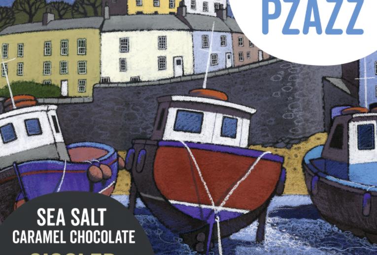 Chocolate bar  - Sea Salt Caramel Chocolate