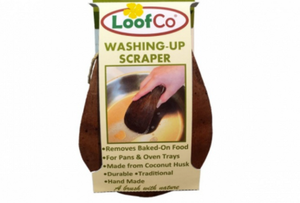 Washing up scrapper (coconut)