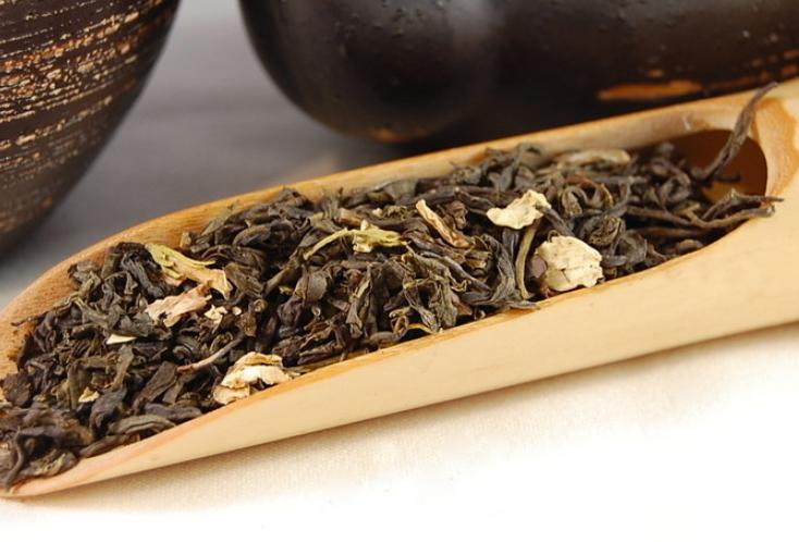 China Jasmine with Flowers loose leaf tea