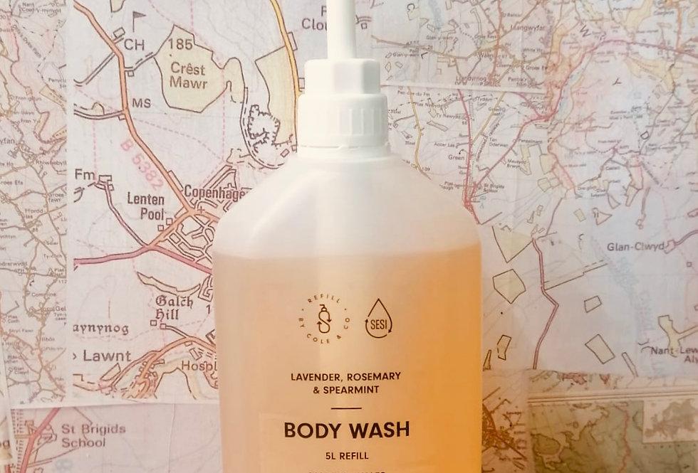Body Wash - Lavender, Rosemary & Spearmint