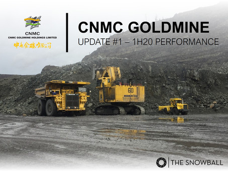 CNMC Goldmine | 1H20 Update