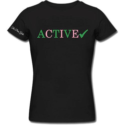 Active -Black