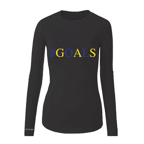 SGRHO GOALS T-Shirt (Long Sleeve)