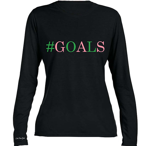 AKA GOALS T-Shirt (Long Sleeve)