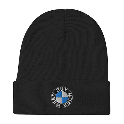 Unisex Embroidered Beanie