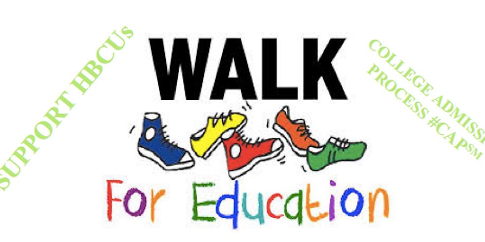 AKA Walk for Education!