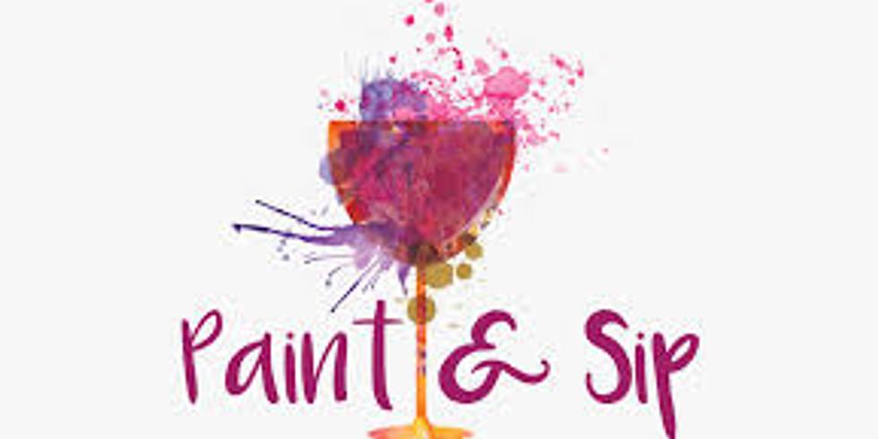Paint & Sip Virtual Paint Party