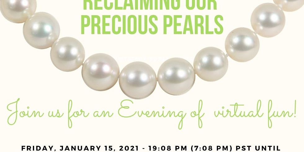Reclaiming our Precious Pearls - AKA MEMBERS ONLY