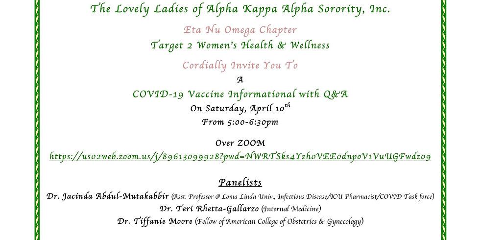 COVID 19 Vaccine Informational