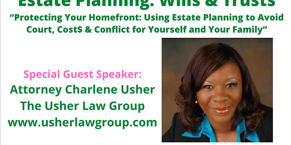 Financial Literacy Series: Estate Planning: Wills & Trusts
