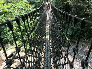 就是愛爬之親子登山 – 九寮溪自然步道