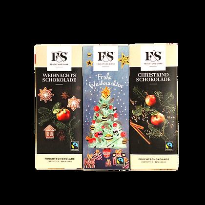 Weihnachts Schokoladen