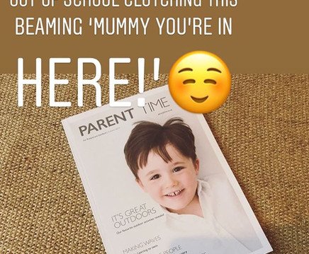 Proud mummy ☺️ and who would have though