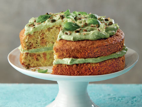 Simply Scrumptious Courgette Cake
