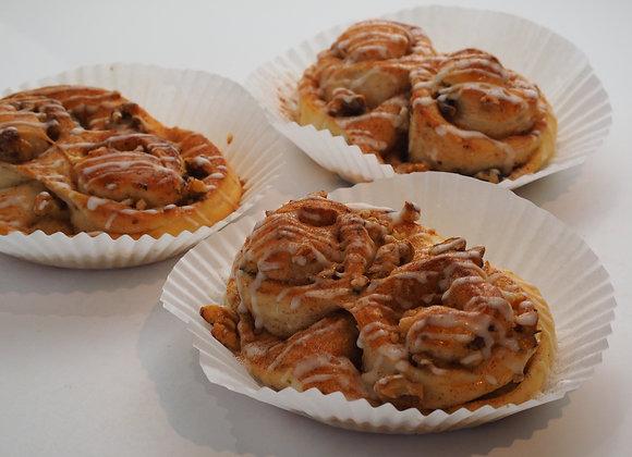 Walnut Cinnamon Roll 肉桂核桃麵包