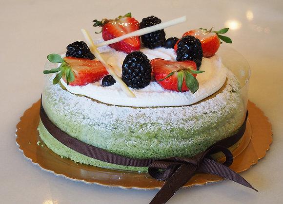 Fruit Matcha Cheesecake