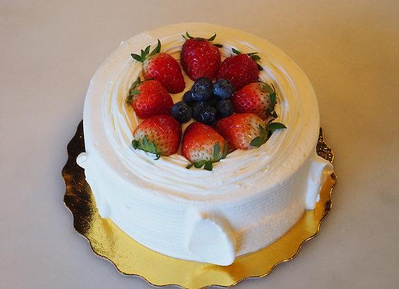 Fruit Cream Cake 水果蛋糕