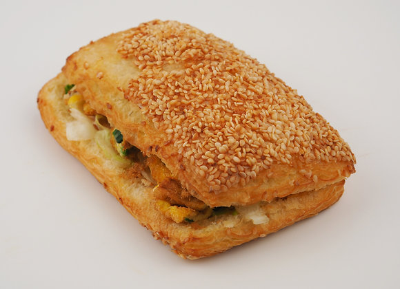 Sesame Pork Sung & Egg 肉鬆蛋燒餅