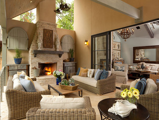 Outdoor Living & Crackling Fires