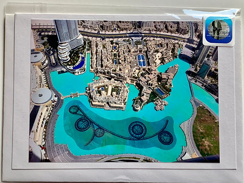 Dubai - View from the Top of the Burj Khalifa