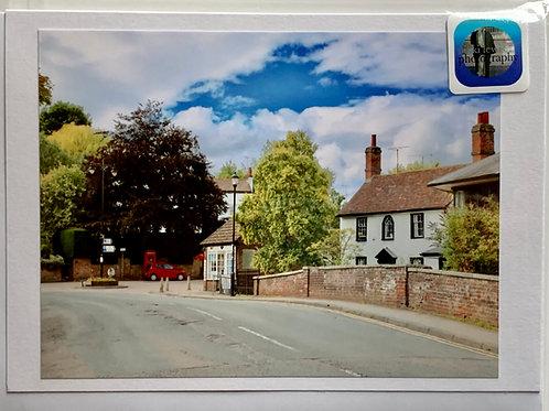 Welwyn - High Street towards Neel Dentistry & Bridge Cottage Surgery