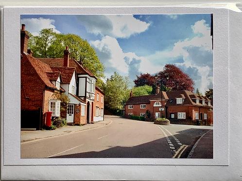 Welwyn - Church Street towards Chequers
