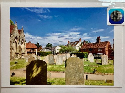 Welwyn - Church Street from the Churchyard