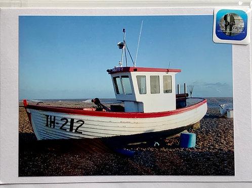 Aldeburgh - Ipswich Fishing Boat on Beach